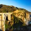 Panoramic View of Big Sur Coast at the Bixby Creek Bridge, California