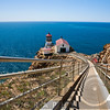 High Angle View of the Point Reyes Lighthouse,California