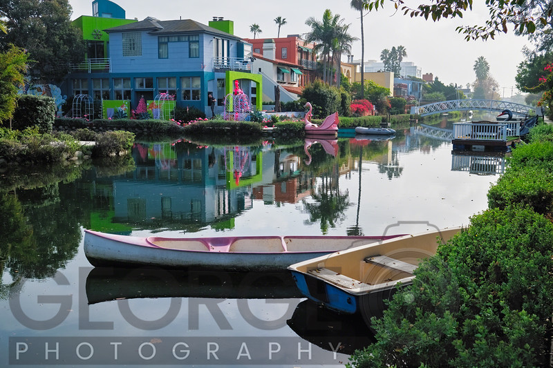 Tranquil Morning at the Venice Canal, Los Angeles