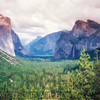Yosemite Valley Scenic from Tunnel View, California