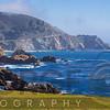 Panoramic View of the Big Sur Coast at the Rocky Creek Bridge, California