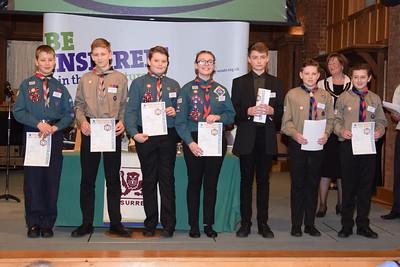 Chief Scout Gold Award Presentation Leatherhead