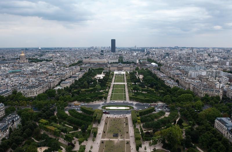 from Eiffel Tower   Paris