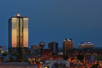Knoxville, Tennessee at Sunrise