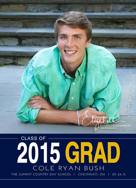 Cole Bush Grad Front