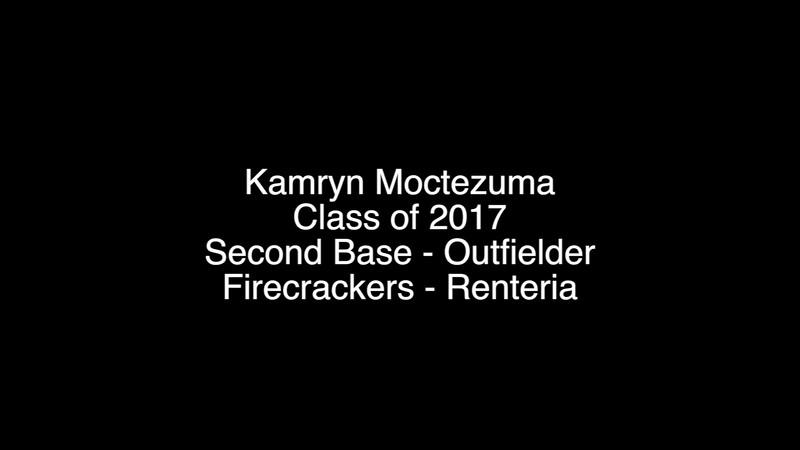 Kamryn M. Softball Skills Video