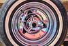 Vintage Automobile Wheel Abstract