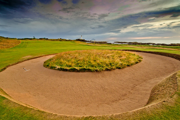 Turnberry Ailsa Course, 10th Hole in 2009 before changes in 2016