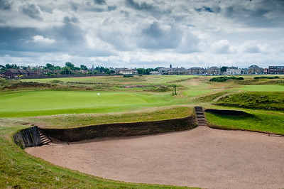 Prestwick Golf Course 17th Hole Sahara Bunker
