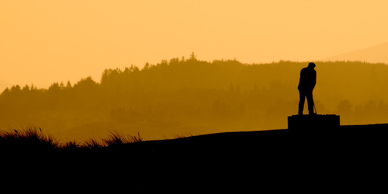 Rosapenna Old Tom Morris at sunset