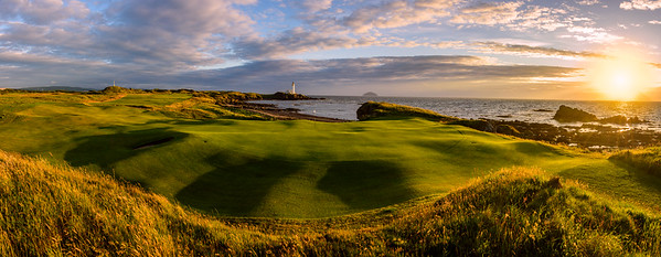 Trump Turnberry 10th Hole at sunset