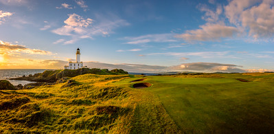 Trump Turnberry 9th hole, Ailsa course