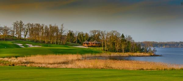 Lough Erne Golf club 9th Hole