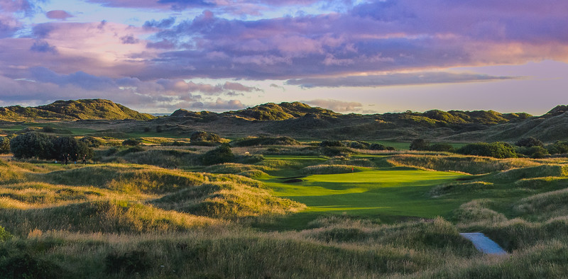Saunton Golf Club, East course 17th hole, Goodban