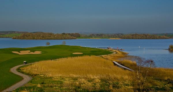 Lough Erne Golf Club 7th Hole (Faldo Course)