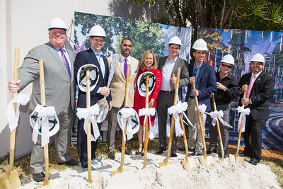 Streetscapes Groundbreaking Event