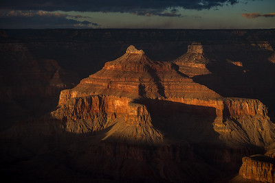 Late Afternoon Sun, Grand Canyon National Park