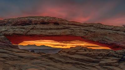 Mesa Arch at Sunrise, Canyonlands National Park