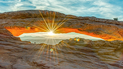 Mesa Arch Sunrise Sunburst