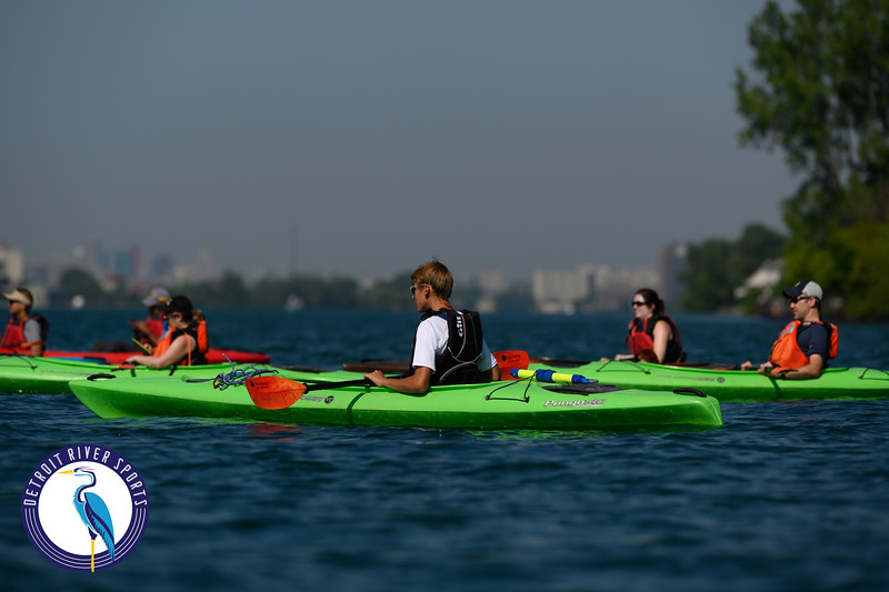 Detroit River Sports - Morning Canal