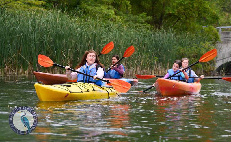 Sunset Paddle<br /> Detroit River Sports