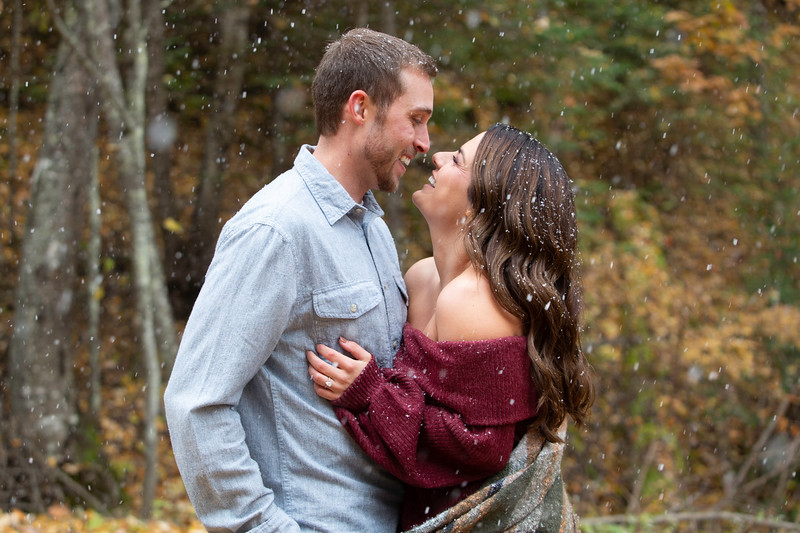 Eagle RIver Engagement Photos