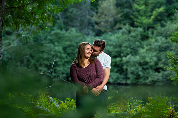 Iron River Engagement Photos