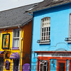 Colorful House Facades, Kinsale, County Cork, Republic of Irekand