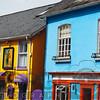 Colorful House Facades, Kinsale, County Cork, Republic of Irekand
