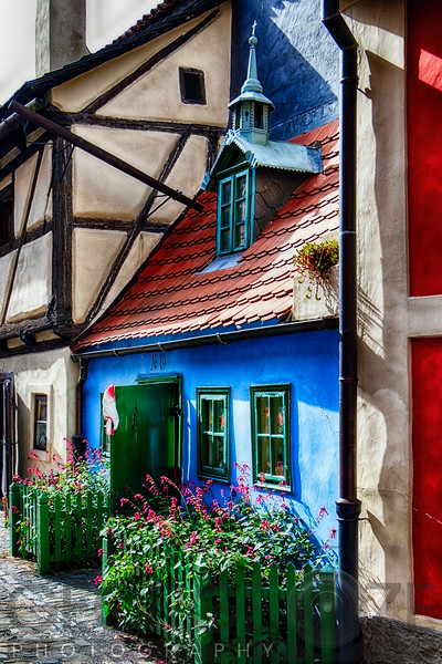 Little House in Golden Lane inPrague Castle