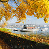 Sunny Autumn Day  at Lake Zurich, Zurich, Switzerland