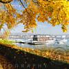 Sunny Autumn Day  at Lake Zurich, Zurich, Switzerland