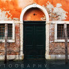 Sinking House in Venice on Calle Fondamenta Magio, Veneto, Italy