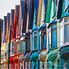 Colorful Street, Cobh, Republic of Ireland