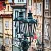 Old Gas Lamps of Prague