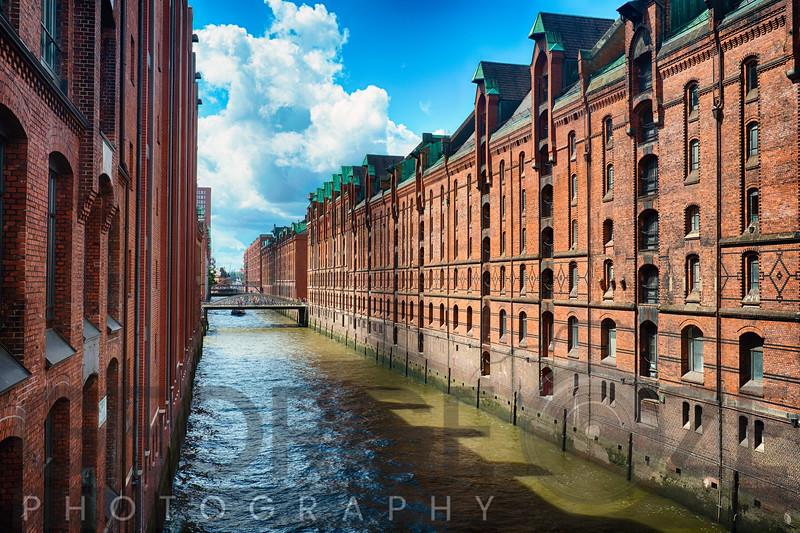 Brick Warehouses of Speicherstadt, Hamburg, Germany