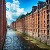 Brick Warehouses of Speicherstadt, Hamburg, Germany