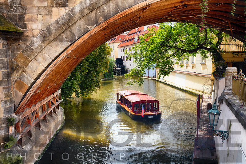 Botaing on The Canal in Prague