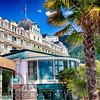View of the Eden Palace Hotel, Montreaux, Switzerland