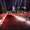 Footbridge St Georges at Night, Lyon, France