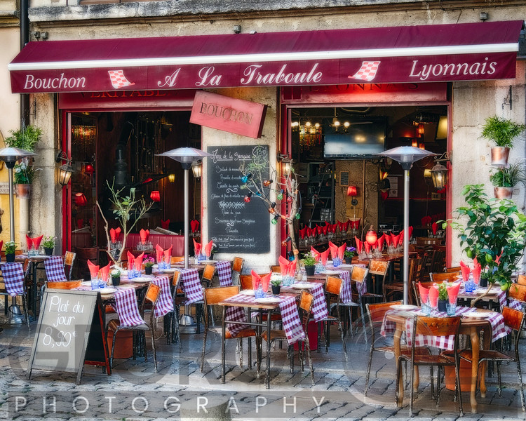 Bistro Open For Lunch, Lyon, France