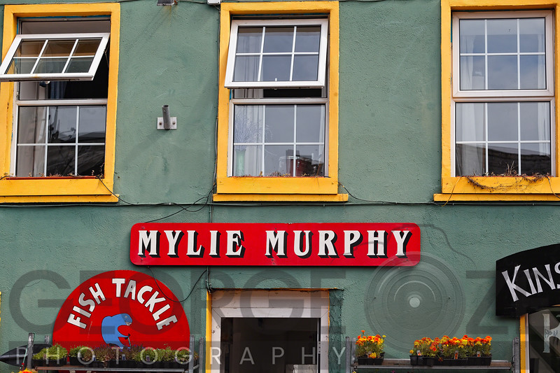 Colorful Store Signs , Kinsale, County Cork, Republic of Ireland