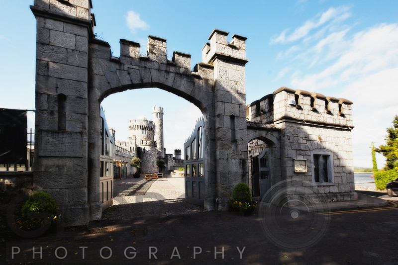 Entrance Gate of the Blackrock Castle, Cork, Republic of Ireland