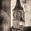Clocktowwer View, St Peter's Church, Zurich, Switzerland