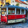 Tram Cafe, Grague, Czech Republic