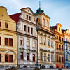 Colorful Houses on Old Town Square, Prague