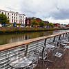 Boardwalk Along The Liffey River, Dublin, Republic of Ireland