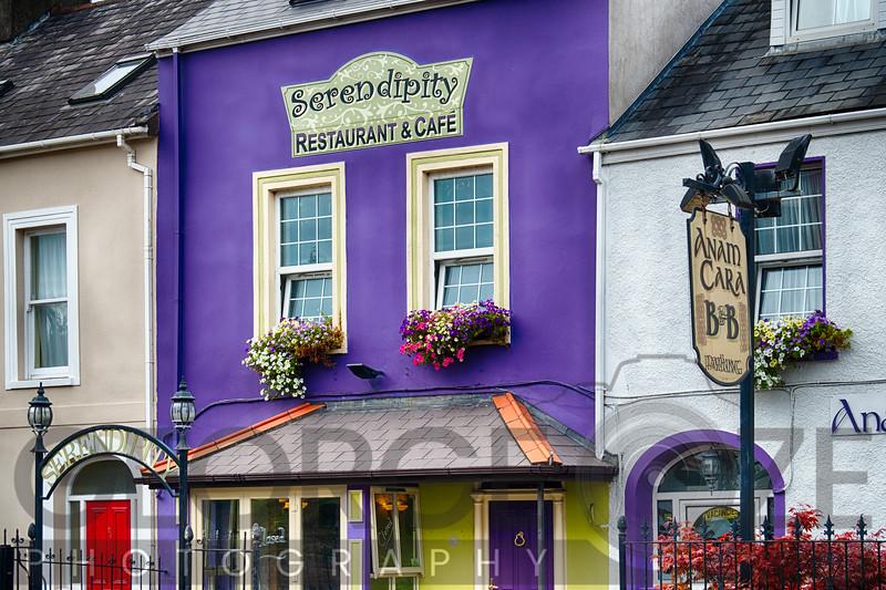 Colorful Building Facades in Cork ,Ireland