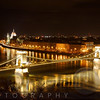 Budapest Nightscape with the Chain Bridge and the House of the Parliement