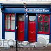 Traditional Barber Shop, Cobh, County Cork, Munster, Republic of Ireland